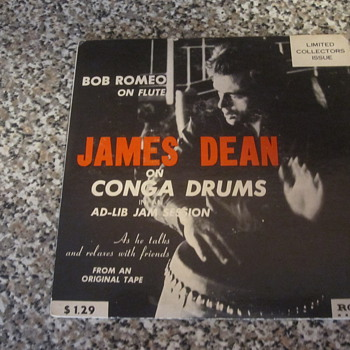 Vintage James Dean Ad-lib Jam Session Record - Records