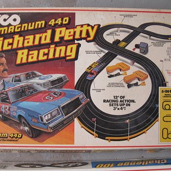 1985 & 1990 TYCO slot car sets