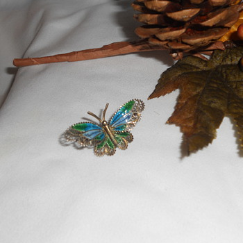 Ethereal Butterfly!  Antique?