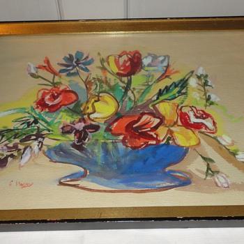 Floral Watercolor - Visual Art