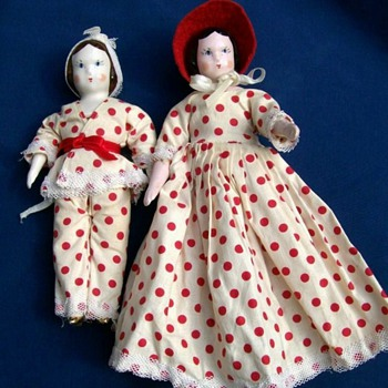 Ruth Gibbs Godey's little lady dolls - Dolls