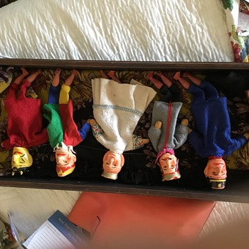 Anyone know anything about my Punch and Judy puppets ? - Toys
