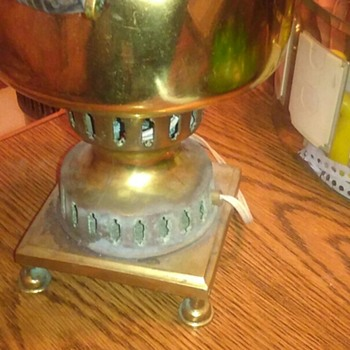 Antique coffee pot lamp  - Lamps