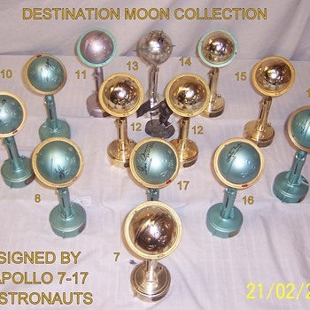 Astronaut Signed Destination Moon Banks