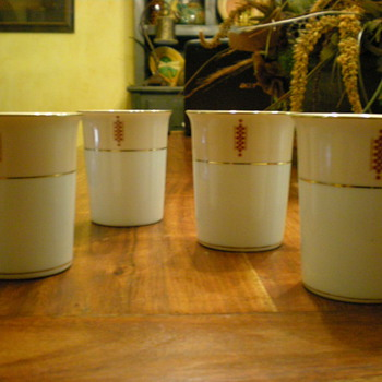 1955 Noritake Cups - China and Dinnerware