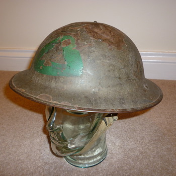 British WWII Home Guard helmet