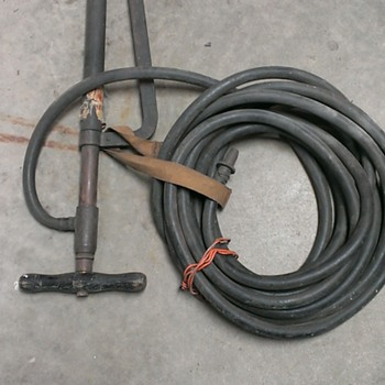 Fire hose and pump