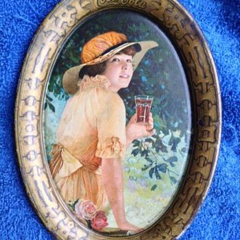 1916 Elaine Coca-Cola Tip Tray