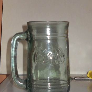Glass Coke Mug - Coca-Cola