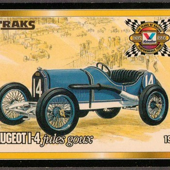 "Valvoline Racing Oil ""TRAKS"" Card - Cards"