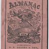 Browns Almanac 1866 diary