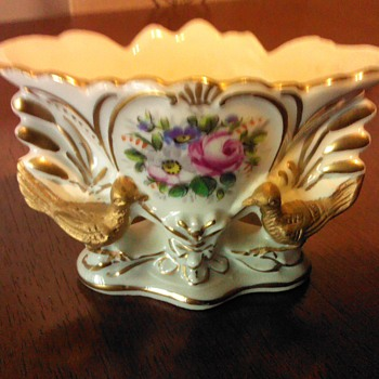 Miniature Porcelain Vase Made in France. - China and Dinnerware