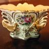 Miniature Porcelain Vase Made in France.