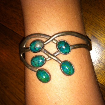 Silver Mexican Bracelet - Fine Jewelry