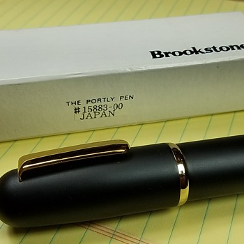 """The Portly Pen"" Novelty Pen from Brookstone"