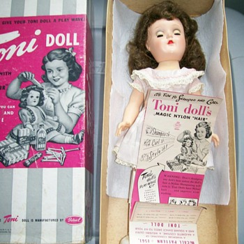 Toni Doll by Ideal Co. Taught young girls to fix hair do's  - Dolls