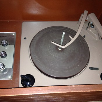 Sears Silvertone Stereo record player model ?