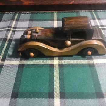 Wooden  car - Model Cars