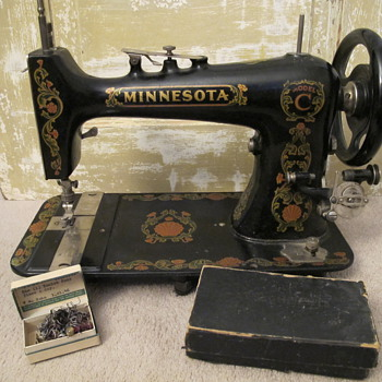 My Minnesota Model C Sewing Machine
