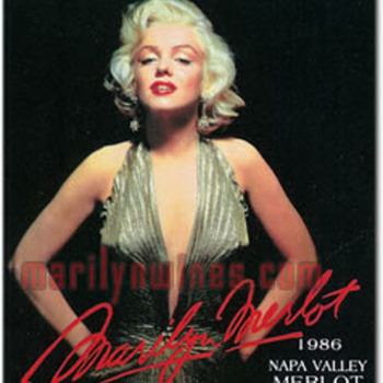 marilyn monroe merlot 1986