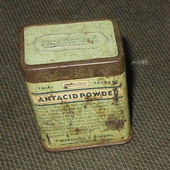 McKesson's Antacid Powder Tin