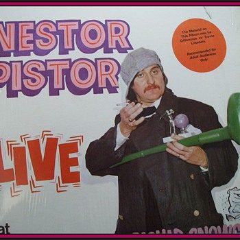 Nestor Pistor -- LP Record - Records