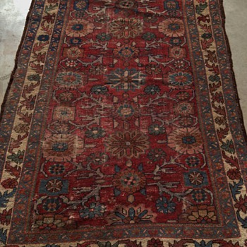 2-Vintage Rugs from Late Estate of World Travler/Collector UNKNOWN what Type