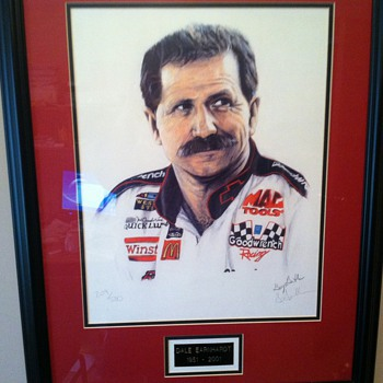 Earnhardt Sr. - Posters and Prints