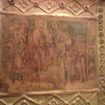 ANTIQUE ICON PRINT
