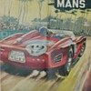 1961 - 24 Hours LeMans Race Poster &amp; Decal