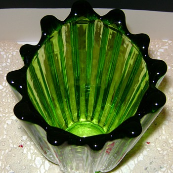 Federal Glass Vase - Glassware