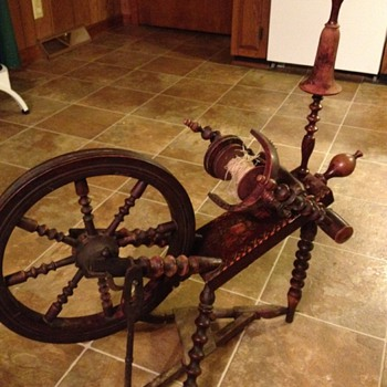 spinning wheel - Sewing