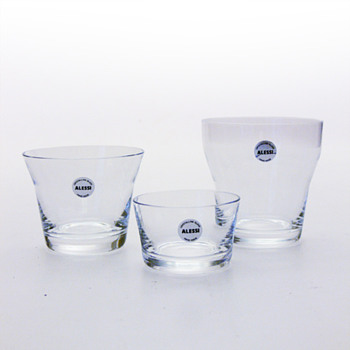 123 dl. drinking glasses, Harri Koskinen (Alessi, 2010)