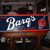 Barq&#039;s Root Beer...Embossed Vintage Tin Sign