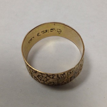 Antique Gold Ring - Gold