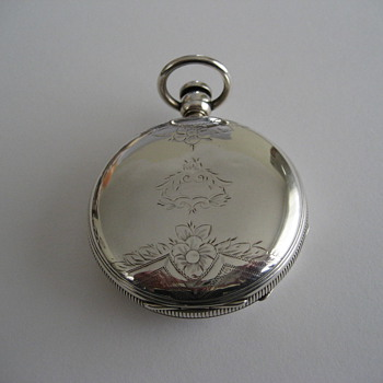 Waltham Wm. Ellery Coin Silver Hunter Case