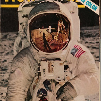 1969 Newsweek Magazine - Moonwalk - Paper