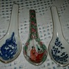 Asian Porcelain Spoons