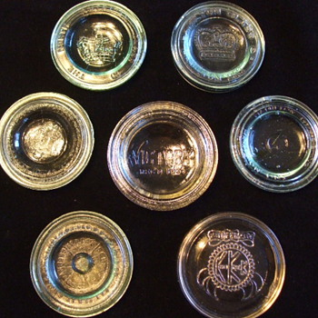 A Few Old Mason Jar Lids & Others for Tom61375 - Bottles