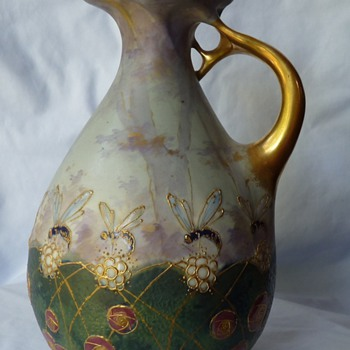 RStK Bohemia Amphora - Art Pottery