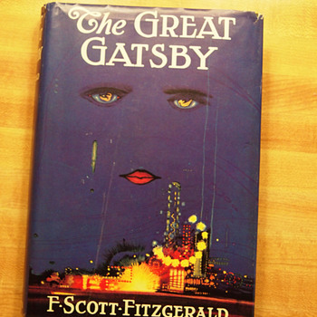 The Great Gatsby with Dust Jacket - 1st ed. - Books
