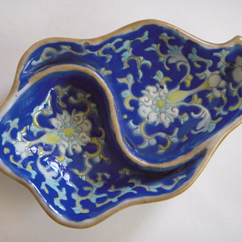antique decorated chinese porcelain bowl/dish