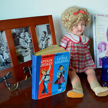 In honor of Shirley Temple: my Shirley Temple Collection - Dolls