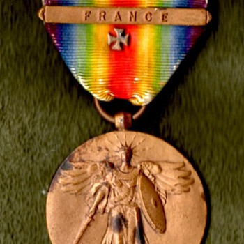 US Victory Medal With &quot;Maltese Cross&quot; - Military and Wartime