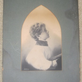 M. B. Parkinson - Photograph/Print - 1897 - Alter Boy - Posters and Prints