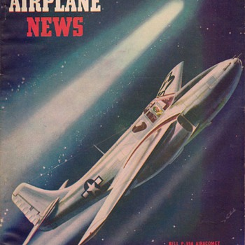 1945 - Model Airplane News magazine - January