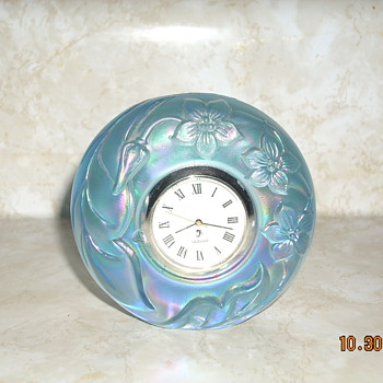 My favorite fenton clock - Glassware