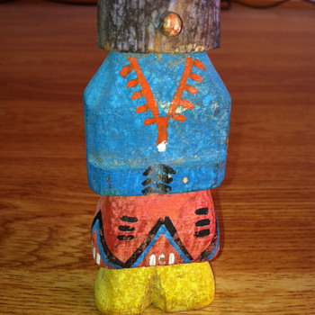 "Kachina Doll 4"" tall - Native American"