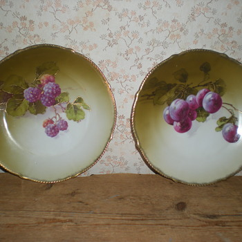Tirschenreuth porcelain plates 1903.