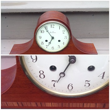 Seth Thomas Lynton 2W mantel clock